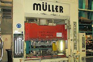 Pressmaschine Müller