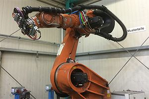 Roboter Versuchszelle